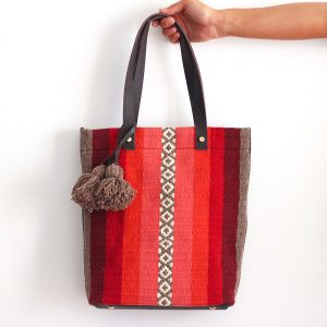 Minde Bag Bordeaux e Coral